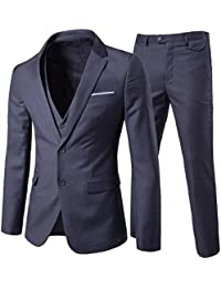 Cloud Style Haut de costume trois-pièces veste +gilet +pantalon affaires décontraction mariage et animateur