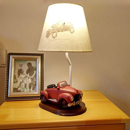 Schreibtischlampe Kinder-Tischlampe, Schlafzimmer Nachttischlampe Kreative Mode Reizende Kinder Tisch Tischlampe Nachtlicht ( Farbe : E )