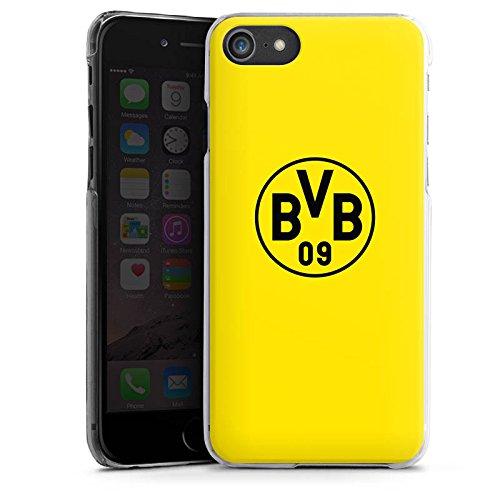 Apple iPhone 7 Silikon Hülle Case Schutzhülle Borussia Dortmund BVB Logo gelb Hard Case transparent