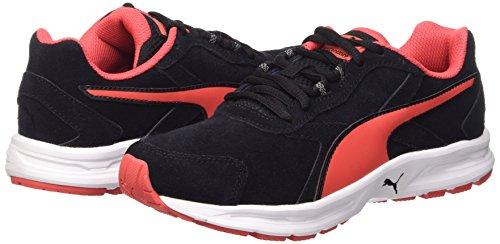 Puma Descendant V3 Suede Chaussures De Course, Femme, Noir (noir / Cayenne), Taille 37 Noir / Cayenne