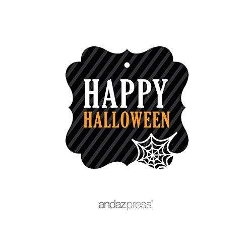 (Andaz Press Klassische Halloween-Party-Kollektion, Schwarz/Orange)