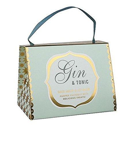 Gin and Tonic Bath House Handbag Pamper Set Lip-cocktail-set