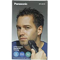 Panasonic Rechargeable Beard & Body Hair Trimmer, Black [ER2031]