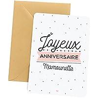 Carte anniversaire maman | Carte de voeux, Joyeux anniversaire Mamounette, Carte d'anniversaire