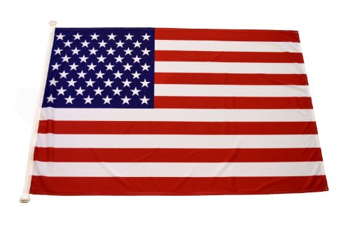 FahnenFleck - Bandiera degli Stati Uniti, larghezza 150 cm, altezza 100 cm, 110 g/m²