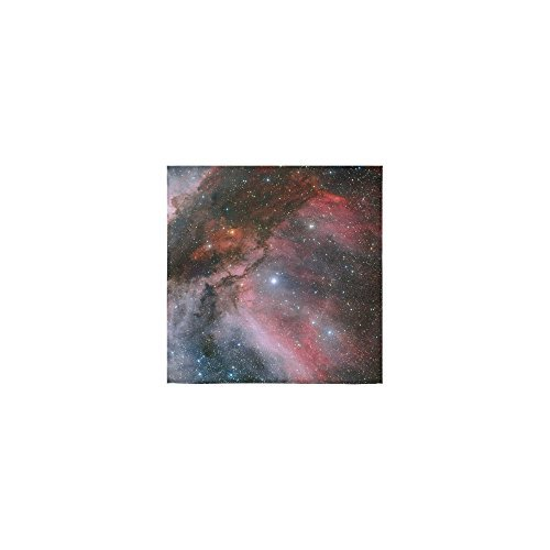 wolf towel Galaxy Wolf Thin Soft Face Towel(One Side)(13x13inches)