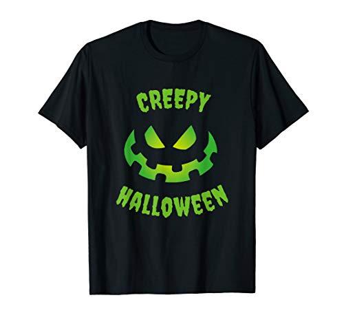 Thriller Kinder Kostüm - Creepy Happy Halloween Grusel Kostüm T-Shirt