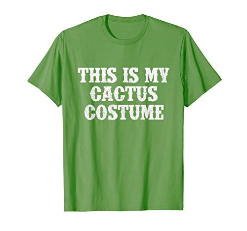 Kaktus Kostüm T-Shirt Humorvolles Party Fasching - Kaktus Kostüm