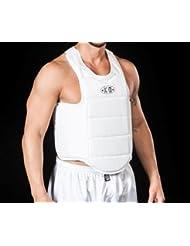 Corset Protecteur Homme Karaté Arts Martiaux ko l'artisan du sport–Blanc