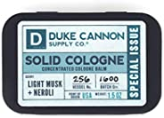 Duke Cannon Solid Cologne Special Issue - Light Musk + Neroli