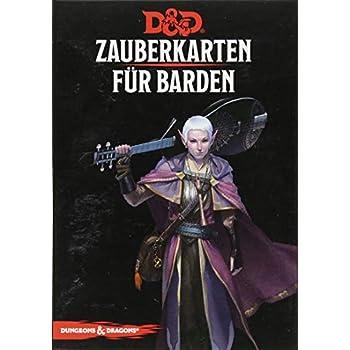 Dungeons & Dragons - Zauberkarten für Barden