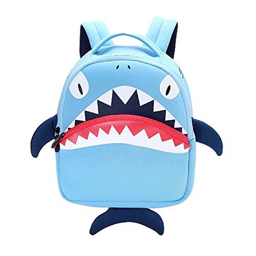 Imagen de bolsa escuela bolso escolar dibujos animados infantil viaje  para guardería primaria niño ninas azul