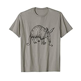 Vintage Aardvark Print T-Shirt