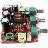 Kissing U Estéreo Tarjeta de Circuitos BBE XR1075 Digital Power Amplifier AC / DC 12V tono Ajuste Amplificadores de coches Junta de Control