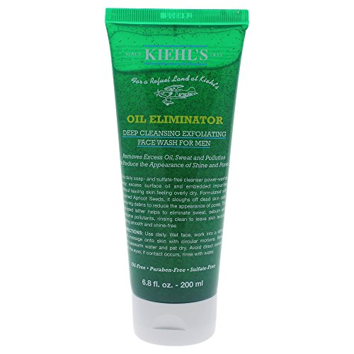 Kiehl's Herrenpflege Gesichtspflege Cleansing Exfoliating Face Wash 200 ml - Deep Cleansing Spray
