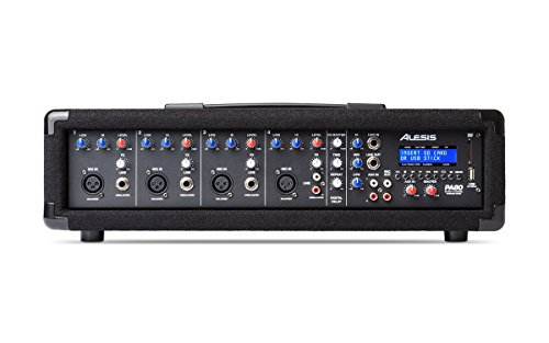 Alesis PA System in a Box Bundle, 280W Sound System mit 4-Kanal ...
