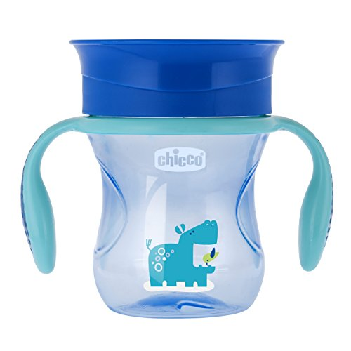 Chicco 00006951200000 Tazza Perfect 12m+, Light Blue