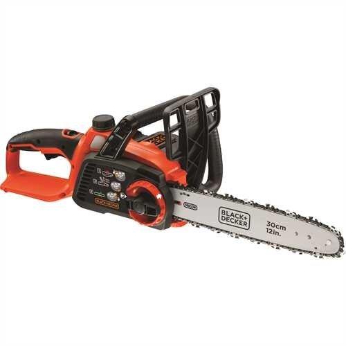 Black+Decker Li Ion Akku Kettensäge 36V GKC3630L20 mit Akku und Ladegerät/Ideal für Holz- & Gartenarbeiten/30 cm Schwertlänge - 2