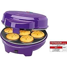 Clatronic DMC 3533 - Máquina de hacer magdalenas, rosquillas, donuts y cake pops,