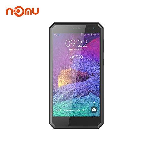 M6 IP68 Außentelefone International Freigeschaltet 5.0 Zoll FHD Android 7.0 4G LTE Dual SIM 2G RAM 16G ROM ROM 5.0MP + 13.0MP Dual Kamera für Wandern Ski ing X Sport (Schwarz) ()