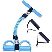 Ueasy Rameur élastique multifonctions avec poignées pour jambes et abdominaux