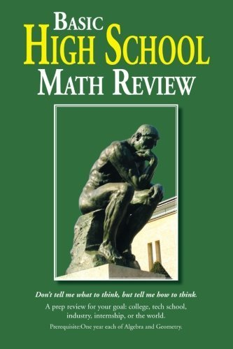 Basic High School Math Review by Elander, Jim (2013) Paperback