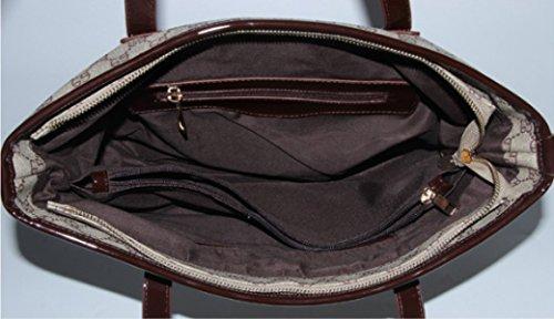 PDFGO Handtaschen Mode Gezeiten Schultertasche Handtasche Eimer Tasche Leder Tasche Big Bag Tote Bag A