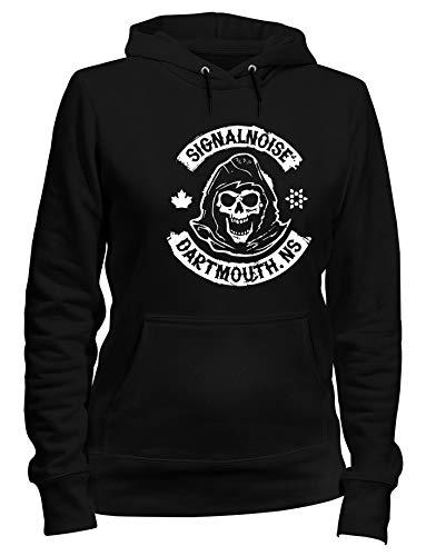 Speed Shirt Kapuzen-Sweatshirt Frauen Schwarz TB0077 SIGNALNOISE Dartmouth