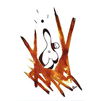 Olivier Cornil – Energy – Tuschezeichnung – 17 x 24 cm