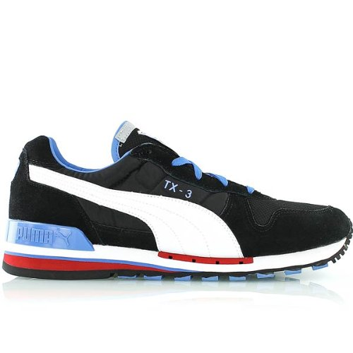 Puma Tx-3 - Zapatillas, color Schwarz / Weiß, talla 46 EU / 11 UK