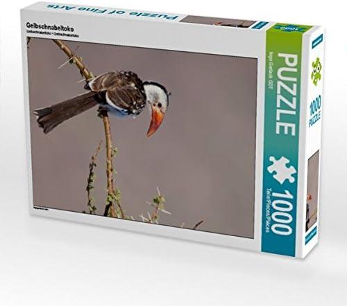 CALVENDO Puzzle Gelbschnabeltoko 1000 Teile Lege-Grösse 48 x 64 64 64 cm Foto-Puzzle Bild Von Gerlach GDT Ingo 3f9867