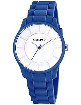 Calypso Damen-Armbanduhr Analog Quarz Plastik K5671/6