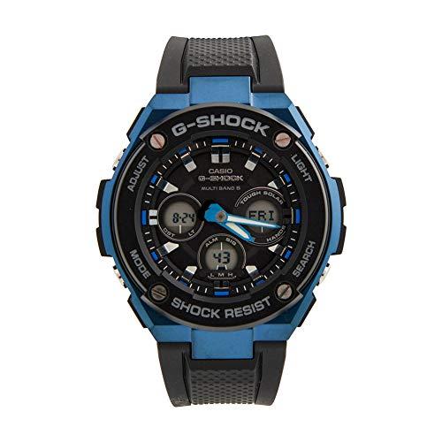 CASIO Herren Digital Uhr mit Harz Armband GST-W300G-1A2ERG