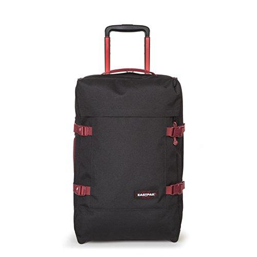 Eastpak Tranverz S Valise, 51 cm, 42 L, Noir (Black-Red)