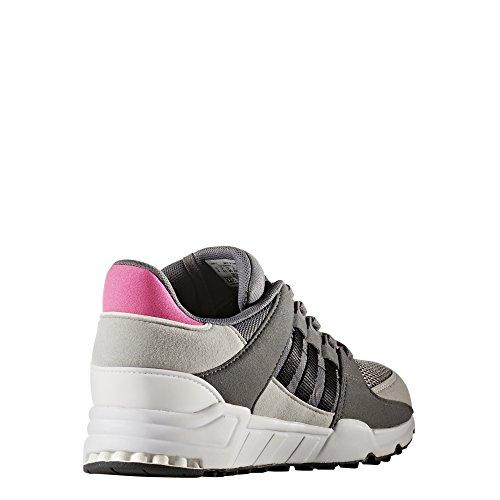 adidas Eqt Support J, Scarpe da Ginnastica Unisex – Bambini Grigio (Grey Four F17/Core Black/Ftwr White)