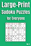 Large Print Sudoku Puzzles for Everyone Vol. 3: 100 brain teaser number logic games (with instructions and answer key)