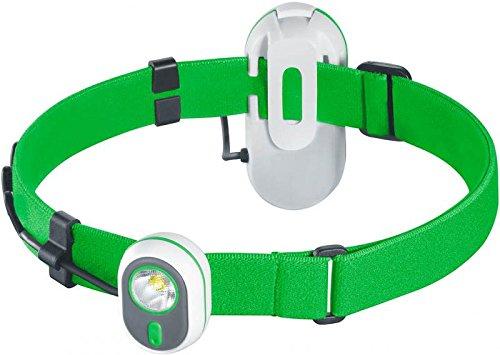 Preisvergleich Produktbild SET: Alpina Sport AS01 grün Stirnlampe Kopflampe 3.7208 + G8DS® Batterien