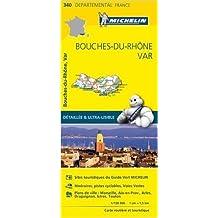 Carte Bouches-du-Rhône, Var Michelin de Collectif Michelin ( 1 avril 2015 )