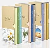 Tombow Irojiten Ensemble de Crayons de Couleur Tous les Volumes 1-9 dans Boîte Collector Contenant 3x3 sets Total 90 Couleurs