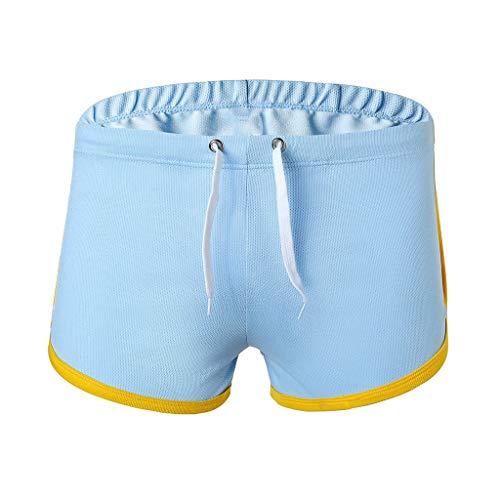 M-2XL Männer Tunnelzug Boxershorts Herren Unterwäsche Unterhose Briefs Underwear Panties Unterhosen Retroshorts Underpants CICIYONER