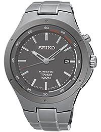 Seiko Reloj Analógico de Cuarzo para Hombre con Correa de Acero Inoxidable – SKA713P1