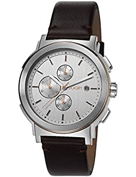 Joop! Herren-Armbanduhr XL Tom Chronograph Quarz Leder JP101451002