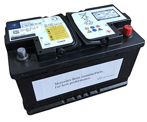 Mercedes Benz A0019828108 Autobatterie 80aH 12V 800A AGM auslaufsicher - Amg-batterie