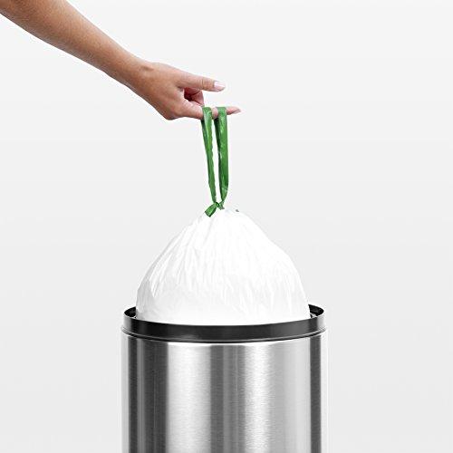 confronta il prezzo Brabantia PerfectFit Bags G Sacchetti per Spazzatura, 23/30L, Bianco, Dispenser da 40 Sacchetti miglior prezzo