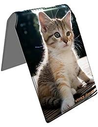 Stray Decor (Kitty Cat) Étui à Cartes / Porte-Cartes pour Titres de Transport, Passe d'autobus, Cartes de Crédit, Navigo Pass, Passe Navigo et Moneo