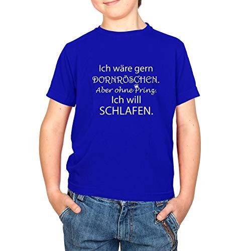 Texlab Dornröschen ohne Prinz - Kinder T-Shirt, Größe XL, ()