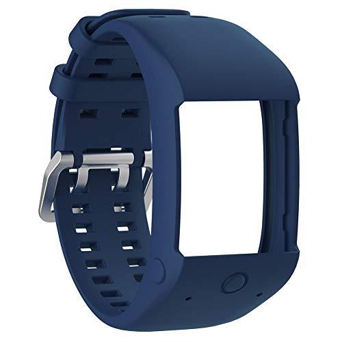 Tienda Huang Dog Reloj de Pulsera Brazalete Pulsera de Repuesto para Fitness Tracker para Smart Watch Cierre Especialmente para la Polar M600Smart Watch Diseñado