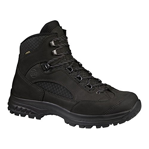 Hanwag Banks Ii Gtx, Chaussures de Randonnée Hautes Homme Noir (All Black)