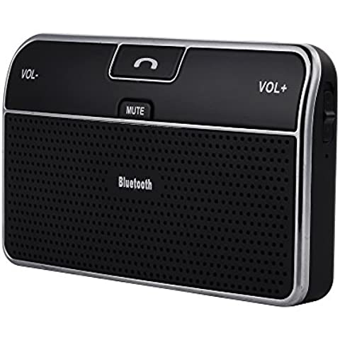 Altavoz Bluetooth 4.0 de COCHE VicTsing, Con Micrófono Incorporado y Manos Libres Para HUAWEI, XIAOMI, iPhone, iPad, Google Nexus, Sony Xperia, Blackberry Z10 y Los Moviles con