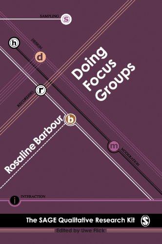 Doing Focus Groups (Qualitative Research Kit)